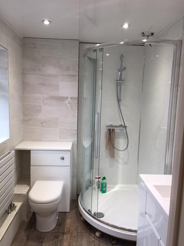 shower fitting in plymouth by sr plumbing