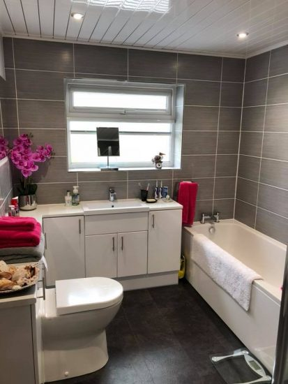 bathroom installations in plymouth from SR Plumbing